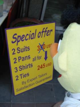 tailor Bangkok