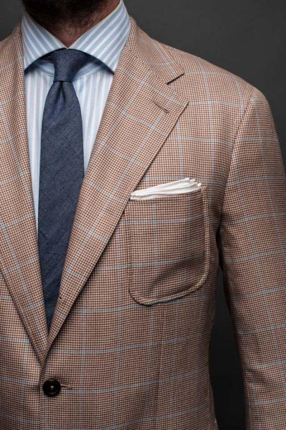 Soft shoulder Jacket by Bangkok Tailor